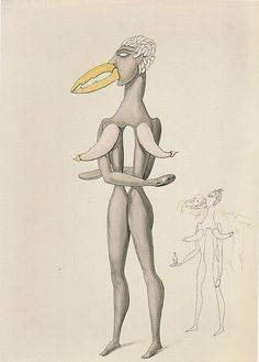 Victor Brauner, from the series Anatomie du désir