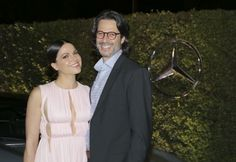 Lana Parrilla & Fred Di Blasio at the Variety and Women in Film Emmy Nominee Celebration 2015 (arrivals)