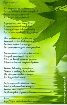 www.troostgeschenk.nl Voordat ik mijn ogen opendoe, weet ik het al. Vandaag lukt het even niet...