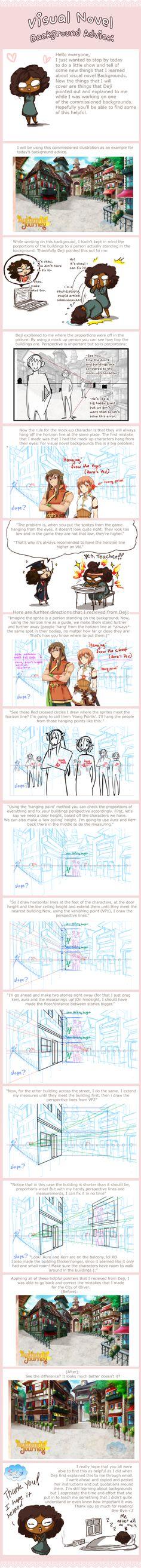 Visual Novel Background Tutorial by SKY-Morishita.deviantart.com on @DeviantArt