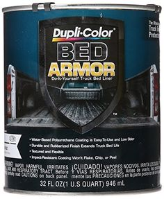 Dupli-Color BAQ2010 Bed Armor DIY Truck Bed Liner with Kevlar Bed Armor - Quart * Click on the image for additional details.