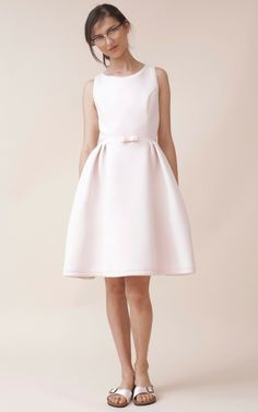 Neoprene Tea Dress by Katie Ermilio for Preorder on Moda Operandi