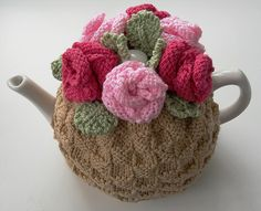 Ravelry: Tea Rose Tea Cosy pattern by Audrey Wilson
