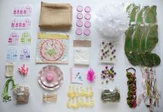fairy party contents | enchanted fairies party | Jade Celebrations | party boxes | party in a box