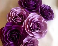 Large Paper Flowers, Paper Flower Wall, Crepe Paper Flowers, Giant Paper Flowers, Flower Wall Decor, Paper Peonies, Paper Roses, Unique Flowers, Types Of Flowers