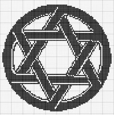 Angels Crochet - Star of David 1 Chart