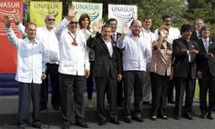 ESTOS CHULOS DE UNASUR SON LOS MISMOS DE LA OEA QUE IMPIDIERON QUE LA VOZ DE VENEZUELA SE CONOCIERA.