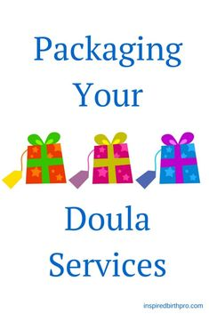 Tips to create doula service packages for your practice. | inspiredbirthpro.com