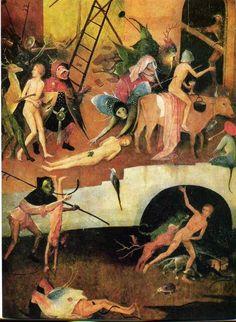 Hieronymus Bosch   he Haywain Triptych (detail)