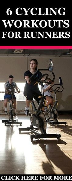 6 Cycling workouts for Runners. Discover why it is beneficial for runners to cycle