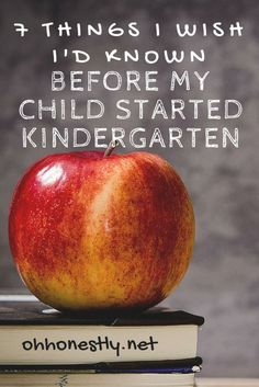 7 Things I Wish I'd Known Before My Child Started Kindergarten 7 Things I Wish I'd Known Before My Child Started Kindergarten – Kindergarten Lesson Plans Before Kindergarten, Starting Kindergarten, Kindergarten Readiness, Starting School, Kindergarten Lesson Plans, Kindergarten Preparation, Kindergarten Blogs, School Readiness, Preschool Lessons