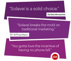 The experts are weighing in and they agree- Solavei is a solid choice! Share with your friends.