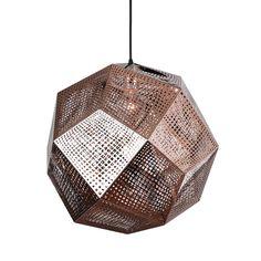 Honeycomb Pendant in Copper | dotandbo.com