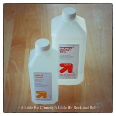 A Little Bit Crunchy A Little Bit Rock and Roll: Homemade (Tightwad) Cleaners for Body and Home