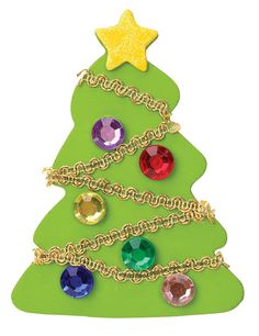 Nicole™ Crafts 3D Wooden Christmas Tree #christmas #kids #crafts #acmoore
