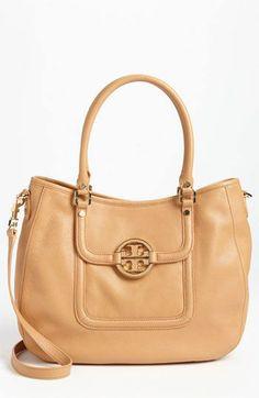 light color leather bag