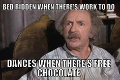 Not cool, grandpa. Charlie and the chocolate factory