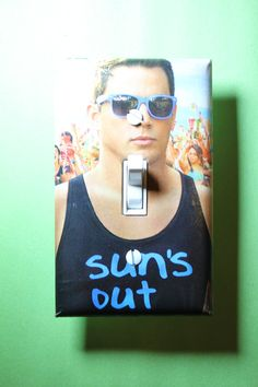 Channing Tatum Light Switch Plate Cover girls by ComicRecycled