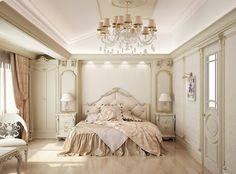 French Style Bedroom Decoration | Fransız Tarzı Yatak Odası Tasarımı (Irina  Vorontsova) #interior