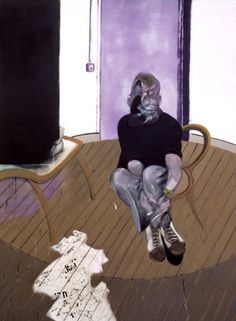 Self Portrait Seated 1973 by Francis Bacon - art print from King & McGaw
