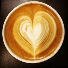 Coffee heart by Kaldi