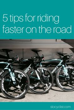 Five ways to ride faster on your road bike Road cycling tips for cycling faster Raise your average mph kph