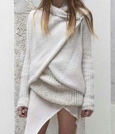 Winter whites.