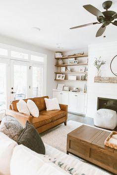 Saint James Place — Annie B. Designs Saint James Place — Annie B. My Living Room, Home And Living, Living Area, Modern Living, Barn Living, Living Room Neutral, Modern Small Living Room, Nordic Living Room, Simple Living Room Decor