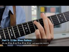 Play the Blues in Every Key - Rhythm and Lead Guitar Lesson - The Art of...