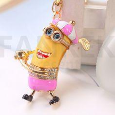 Minions Despicable Me Key Chain Minions Despicable Me, Key Chain, Bracelets, Shopping, Jewelry, Fashion, Bangle Bracelets, Jewlery, Fashion Styles