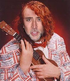 NIc Cage as Tiny Tim