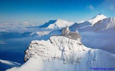 Jungfraujoch railway station (Switzerland), the highest railway station in Europe situated at 3,454 meters (11,332 ft) above sea level~~Been there