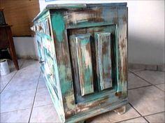 Como restaurar móvel antigo de madeira - Passo a passo