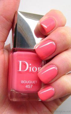 Dior Vernis Bouquet, Dior Vernis Bouquet swatch, dior spring 2014, dior trianon