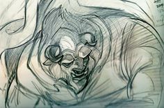 I think the Beast's transformation is one of the most epic moments of hand-drawn animation.
