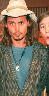 Johnny Depp not so perfect here