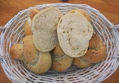 Výborné žemličky, anglické rožky, pizza rožky (kváskové) Bread, Food, Basket, Brot, Essen, Baking, Meals, Breads, Buns