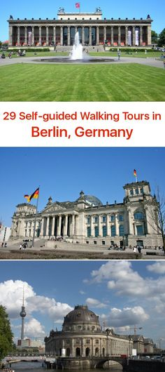 Follow these 29 expert designed self-guided walking tours in Berlin, Germany to explore the city on foot at your own pace.  Each walk comes with a detailed tour map and together they are the perfect Berlin city guide for your trip.
