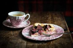 Fig Cake with Marzipan | Bake Your Slovak Roots