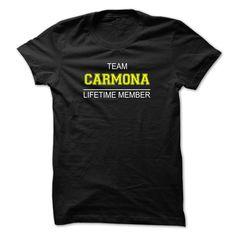 (Tshirt Most Deals) Team CARMONA Lifetime member Best Shirt design Hoodies, Funny Tee Shirts