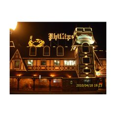 Lights On At Phillips Crab House In Ocean City | Ocean City Blog via Polyvore