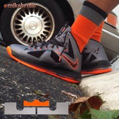 Nike LeBron #SNEAKERHEADCARTEL #sneakers #lebron - photo by @mikebrolic