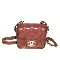 """Chanel """"Back to School"""" Bag - Perfect Edge Collection - Brown Quilted Leather"""