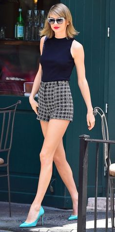40 Outfits, Which Proves Taylor Swift is The New Fashion Queen #beautyfashion