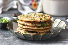 sourdough discard scallion pancakes » the practical kitchen