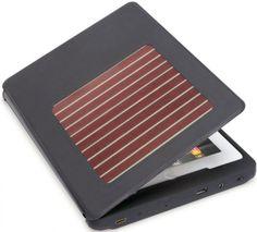 solar ipad case--bit pricey, but definitley a green option