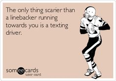 Thanksgiving Texting and Driving Quote
