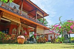 Private beachhouse Sinar Cinta in #Amed on the beach of #Bali