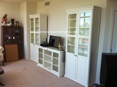 ikea liatorp entertainment center assembled in arlington va by furniture assembl. - Ikea DIY - The best IKEA hacks all in one place Indoor Sauna, Liatorp, Dresser Desk, Entertainment Center, Entertainment Furniture, Best Ikea, Inexpensive Furniture, Furniture Assembly, Ikea Furniture