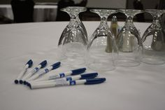 Pens and paper at each place setting for your convenience. Simply ask one of our talented Catering Managers while planning your event...